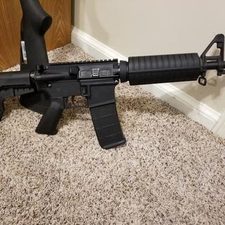 Assembled with anderson lower and magpul m2
