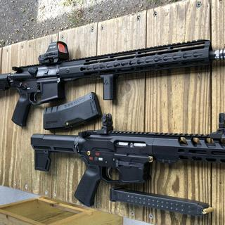 My 9mm PCC and 5.56 build