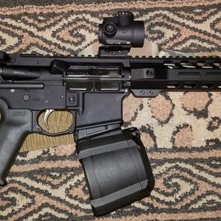 My pistol setup.