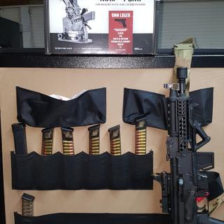 Magpump 9mm Hopper-Fed Mag Loader with Five ETS 31rd Glock