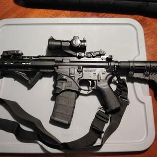 7.5 inch AR pistol PSA upper /lower and their great BCG.