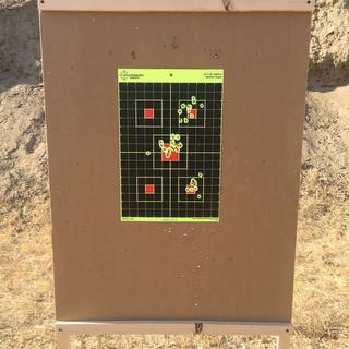 50 yards Wolf ammo