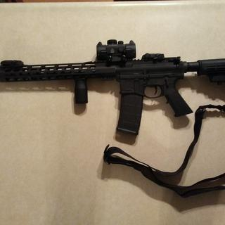 I added a polymer 80 lower receiver with this kit.