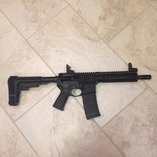 """8.5"""" 2A Armament Pistol build."""
