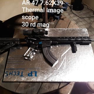My AR-47 Will not build without antiwalk pins.