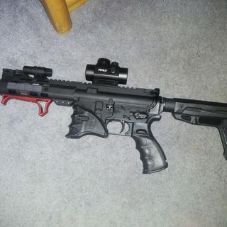 Great upper from PSA, completed my AR pistol for under $400!