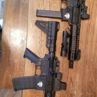 9mm DI and 9mm blow back