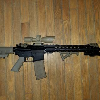 Love my PSA upper and lower.  Solid AR for an awesome price!