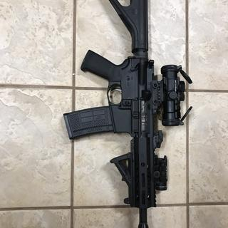 Handgun , FailZero bolt, and Armaspec buff