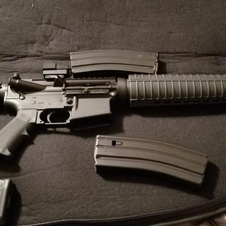 I have the 223 and 556 lower for the money and the fun of building aar