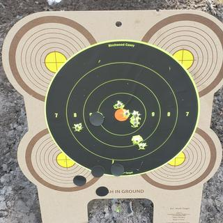 100 yrds after sighted