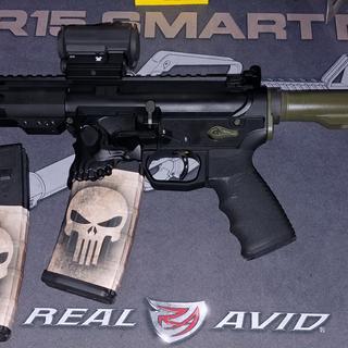 """PSA 7.5 300 Blackout upper, sharps bros """"the jack"""" stripped lower, timney trigger, jp scs h2 buffer"""