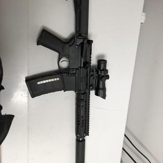 First 300 blackout pistol build