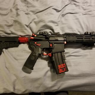 PSA lower on a 300 blk pistol