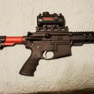 PSA lower on a 22LR pistol