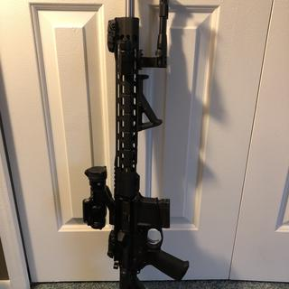 "Psa 18"" ss wylde upper with magpul sights , psa moe ept lower kit, dti lower,  vortex strike fire 2"