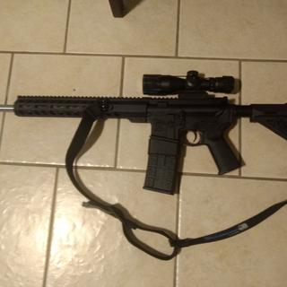 Love it!!!. This is my version of a CA compliant AR-15.