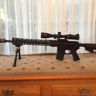 """18"""" CHF with PSA EPT lower build kit and 3-9x40 scope."""