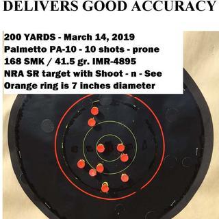 Very acceptable accuracy