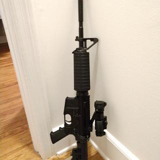 "Fully assembled PSA 16"" Carbine Freedom Rifle Kit with Vortex Strikefire II"