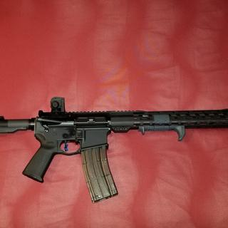 """SS 18"""" .223 Wylde, HyperFire Trigger, Anderson Lower, PA Magpul MOE Lower Kit, White Kote Stock"""