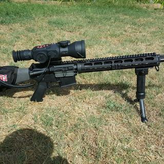long range night capable coyote killer