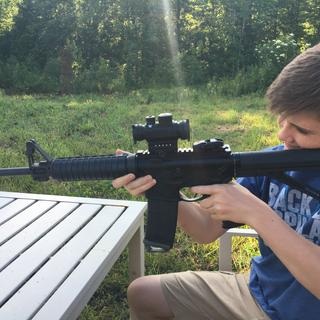 Training this young man at the range, we spent 1000 rounds without a malfunction of any kind.