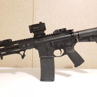 "PSA AR-15 Complete MOE Shockwave Pistol Lower w/7.5"" BCA .300 Blackout Upper"