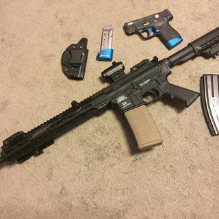 """PA-15 16"""" Nitride M4 Carbine 5 56 NATO Classic AR-15 Rifle"""