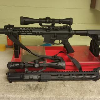 PSA 20 inch barreled upper with Vortex Diamondback HP 3-12
