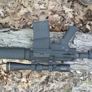 PSA AR 10 gen 2 lower & PSA gen 2 upper a perfect 308 cal. rifle! Added a Leupold VXR 3×9×40
