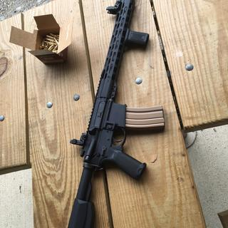 Around 500 rounds through the rifle and it hasn't had one failure to feed or failure to eject