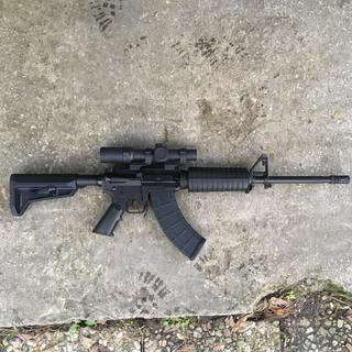 Changed out the stock with a magpul slk I had laying around. The factory one was just fine