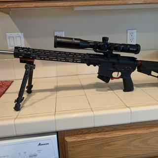 "20"" PSA 6.5 Grendel upper on a 80% lower with Anderson lower parts kit and Stike Industries."