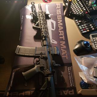 Prepping for range time tomorrow