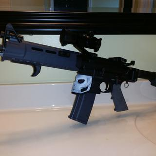 Great kit, added a few items to customized with magpul handguard, stipple grip, etc.... Shoots great