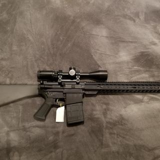 Upper with A2 lower and Leatherwood Hi-Lux 4-16x44