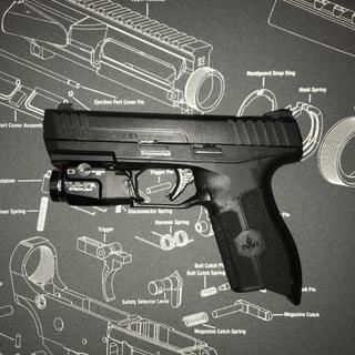 Iwi Masada 9mm Pistol Black Palmetto State Armory