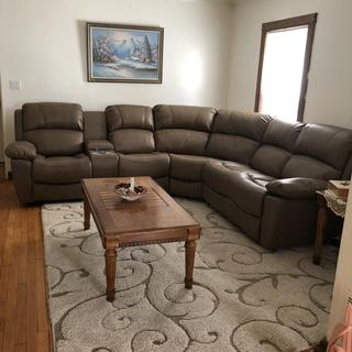 👍5 stars for style and comfort !   The massage and heat settings on the recliner are amazing !