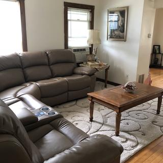 Love this 3 pc. Sectional !  It's very comfortable. The massage / seat recliners are awesome.