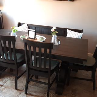 Very happy with our dining set.