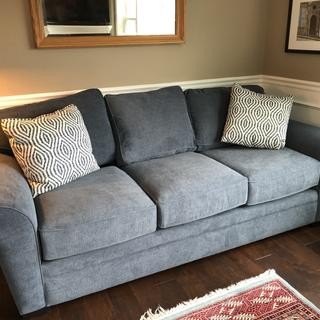 Full length sofa