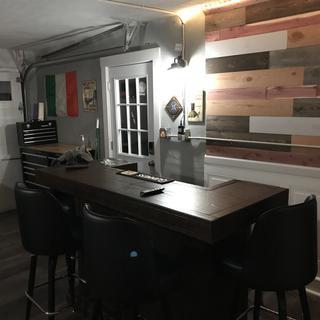 My garage bar