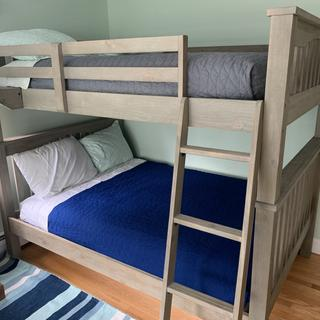 Perfect for full size bunks