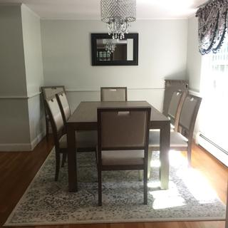 Our lovely dining set!