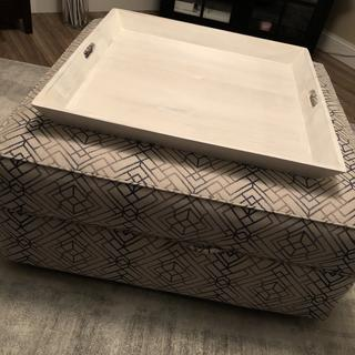 Absolutely love it!! . I get so many compliments on it. Love the storage in it as well