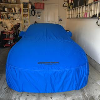 Sky Blue C17106D2 Covercraft Custom Fit Sunbrella Series Car Cover