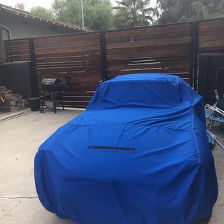 Sky Blue 2062-02-23 Covercraft Custom Fit Sunbrella Series Car Cover