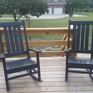Astounding Polywood Vineyard Porch Rocking Chair R140 Polywood Caraccident5 Cool Chair Designs And Ideas Caraccident5Info