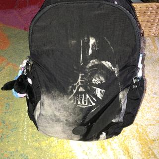 Beautiful Darth Vader design on the front of the bag
